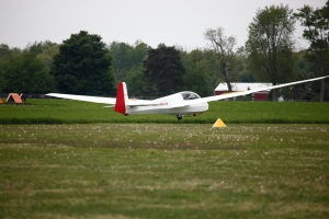 Adrian Soaring Club Schleicher AS-K13 L/D 27:1 @ 50s-56d MPH  ---  Min Sink 40s-44d MPH  ---  Cloth covered glider